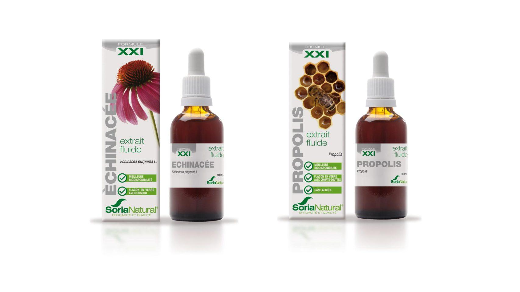 Présentation pack immunité echinacée-propolis