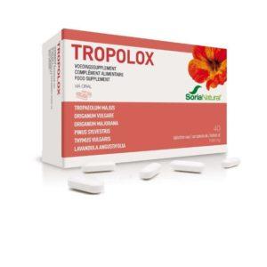 tropolox, antiseptique, antivirale
